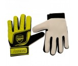 Arsenal FC Childs Goalkeepers Gloves-Yellow