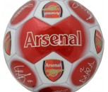 Arsenal FC Size 5 Signature Football-Red