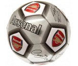 Arsenal FC Size 5 Signature Football-Silver