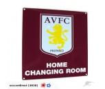 Aston Villa FC Home Changing Room Sign