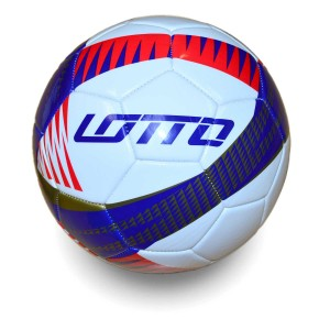 Lotto Hexus Ball Size 5 Royal Gold Red | Match and Training Balls | Footballs