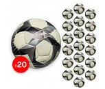 Lotto FB500 Size 5 Match Quality Training Ball x 20 Ball Bundle