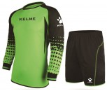 Kelme Child's Goalkeeper Set 12 years Size Neon Green/Black