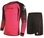 Kelme Goalkeeper Shirt and Short Set Adult Size Small Red/Black