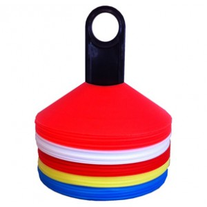 Disc Cones Set of 50 | Coaching Equipment | Matchday Equipment | Coaching & Matchday Equipment