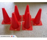 38cm Witches Hat Cones Set of 6