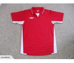 Umbro Offside Football Shirts Red/White Adult Medium