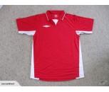 Umbro Offside Football Shirts Red/White Adult Medium